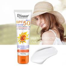 50g Facial Body Sunscreen Moisturizer Whitening Hydrating Long-Lasting SPF 50 Summer Sunscreen Cream For Men And Women Body Care