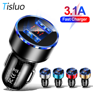 3.1A Dual USB Car Charger With