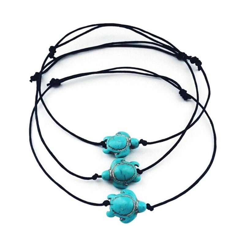 Women Boho Turtle Ankle Chain Anklet Bracelet Foot Chain Beach Jewelry