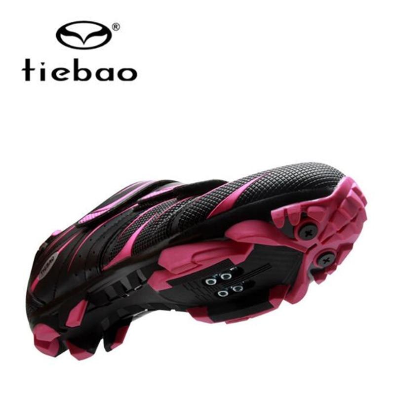 Купить с кэшбэком TIEBAO Cycling Shoes sapatilha ciclismo mtb equitation women sneakers Mountain Bike zapatillas deportivas mujer superstar shoes