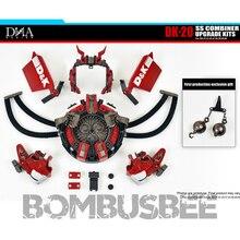 【В Stock】Action деятель робот ДНК дизайн DK-20 обновления Комплект задние фоны для студийной съемки серии комбайнер Revastator аксессуар посылка модел...