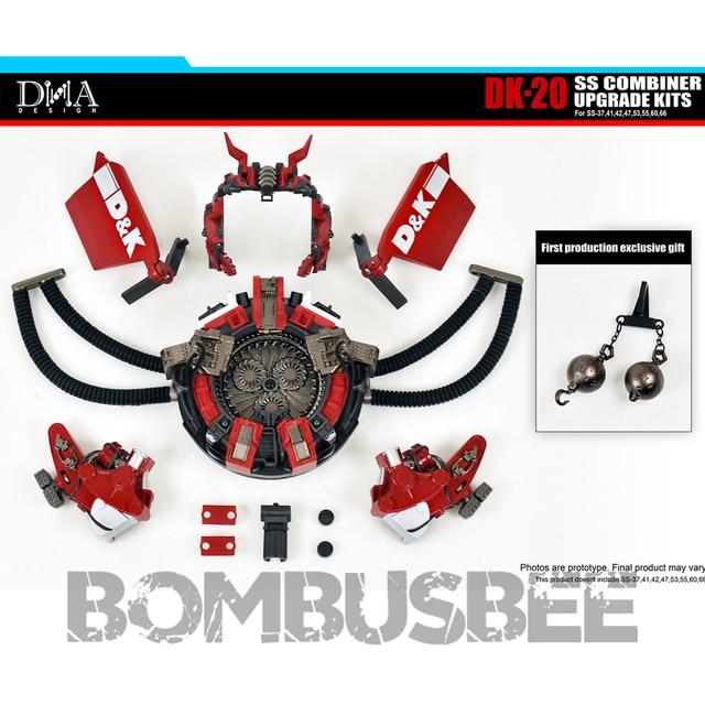 【In Stock】Action Figure Robot DNA Design DK-20 Upgrade Kit for Studio Series Combiner Revastator Accessory Package Model