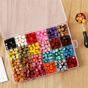 600 sztuk DIY Scrapbooking ślub dekoracyjne zaproszenie pieczęć pieczęć woskowa fasola pieczęć pieczęć wosk zestaw pieczęć wosk narzędzie do robienia tanie i dobre opinie CN (pochodzenie) X291