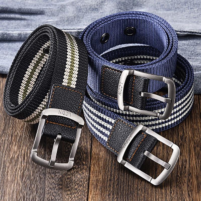 Men Belt Army Adjustable Belt Men Outdoor Travel Tactical Waist Belt with 100cm 120cm buckle pants belt canvas dropshipping 2021