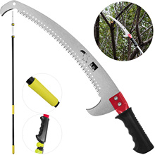 Saw Telescopic VEVOR 2-Foot-Saw-Blade Landscaping with for Pruning Pole-Saw 6-18