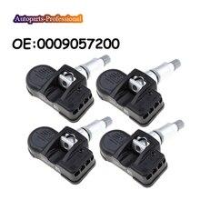 4 pcs/lot Car 0009057200 A0009057200 For Mercedes Benz Smart C E S CL CLA TPMS Tire Pressure Sensor 433MHZ
