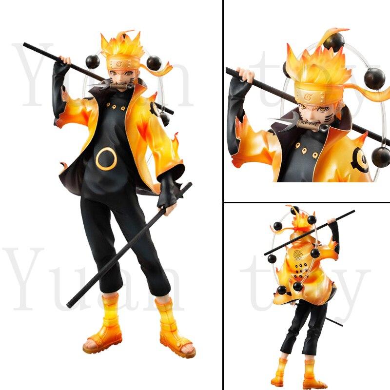 9inch New Hot Naruto Uzumaki Naruto Ootutuki Hagoromo Collectors Action Figure Model Gift Toy Doll