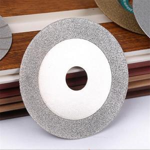 100mm disco de corte diamante revestido plana roda colo lapidação polimento disco moagem cortar discos lâminas roda ferramenta giratória