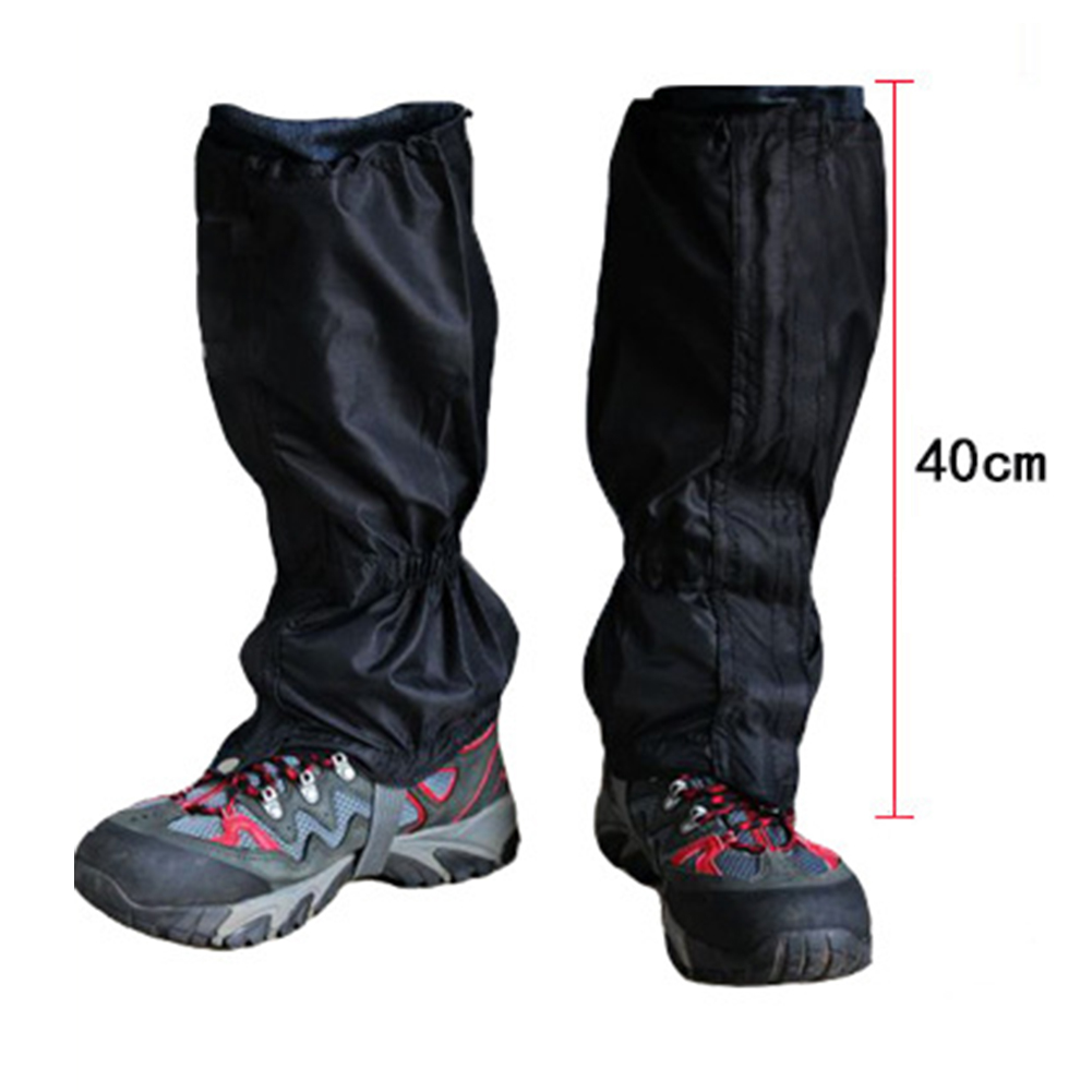 150d Oxford Cloth Leg Cover Waterproof Breathable Leggings Outdoor Hiking Climbing Hunting Trekking Snow Leg Protection New S17