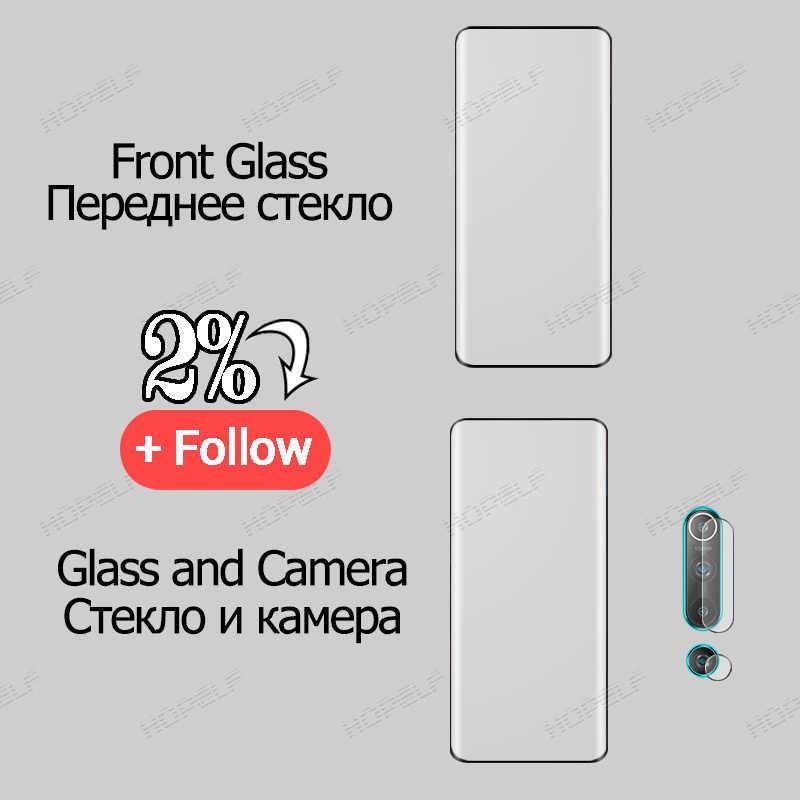 Verre trempé pour Huawei P40 Pro P30 protecteur d'écran plein bord incurvé verre de protection pour Huawei P40 P30 Lite P40 Pro Plus