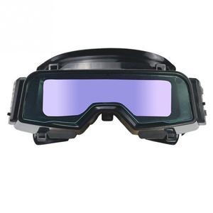 Image 5 - Gafas de soldadura de Color verdadero antideslumbrante, gafas de soldadura de oscurecimiento automático para Máscara de Soldadura de Plasma TIG MIG MMA LYG R100A a prueba de arañazos