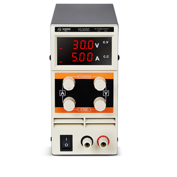 цена на YAOGONG YG305D 30V 5A three-digit adjustable DC power supply Mini Switching Regulated Adjustable Laboratory