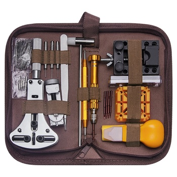 149Pcs Watch Repair Tool Kit Watch Link Pin Remover Case Opener Spring Bar Remover Repair Tool Kit
