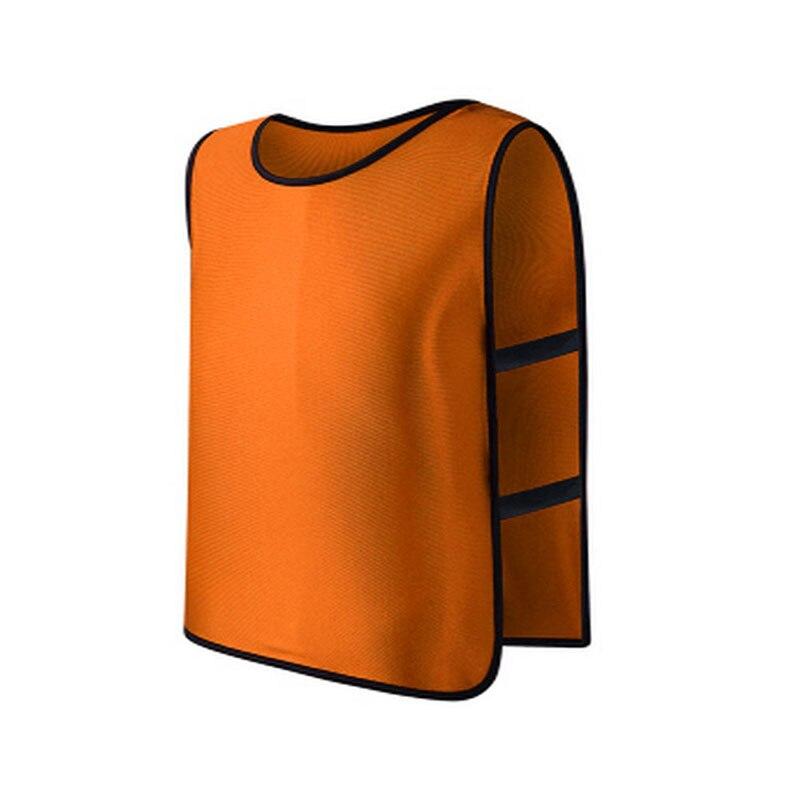 Children Kid Team Sports Football Soccer Training Pinnies Jerseys Train Bib Vest DXAC