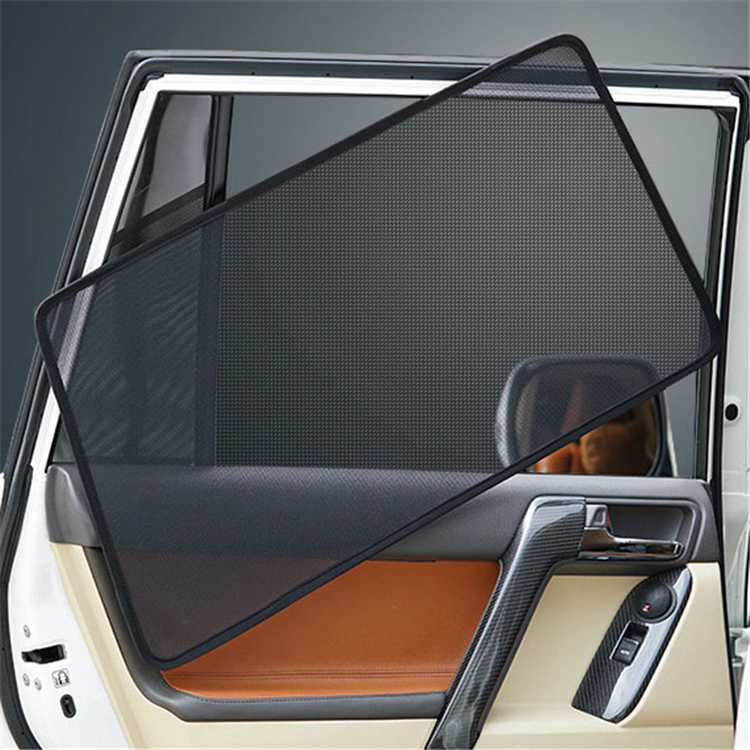 UV Protection Sun Visor Mesh Visor Shield Car Sun Block Car Curtains For Toyota Land Cruiser LC200 2008-2019 Car Sun Shades