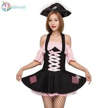 Halloween Alice in Wonderland Pink Witch Costume Soft Girl Pirate Cosplay Service Dai Queen