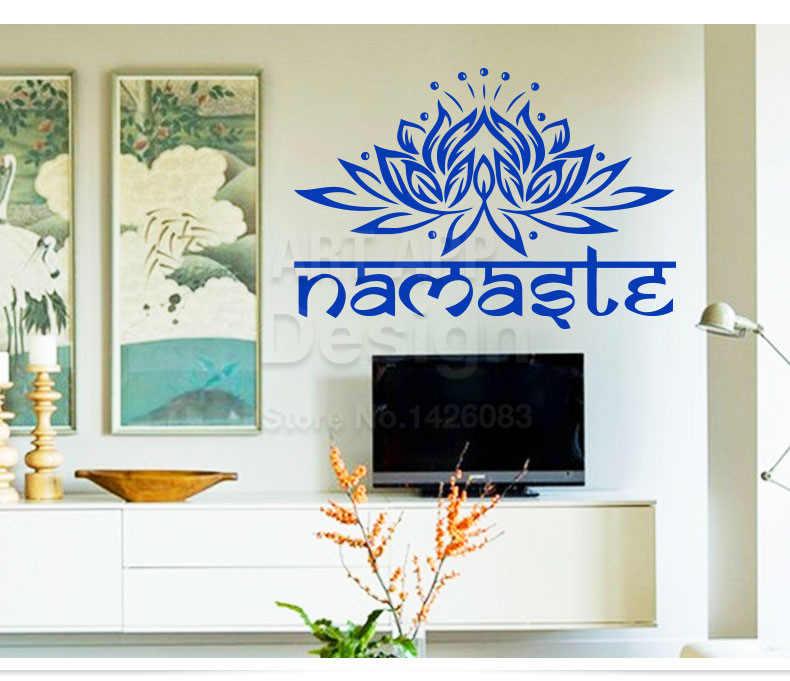 Маленькие индийские руки вместе li zi наклейки на стену Лотос клейкая бумага Будда Ганеша домашняя отделка спальни цветочная роспись 9478