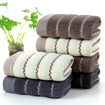 Pure cotton thickened absorbent towel soft skin friendly antibacterial bath towel adult love hotel shower cool bath beach towel