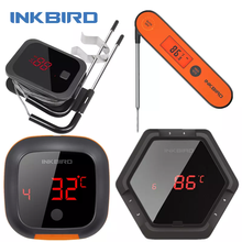 INKBIRD BBQ Series IBT-2X 4XS 4XC 6XS 1P Kitchen Utensil Outdoor Cooking Tool for Kitchen Grilling Oven Smart Home Camping Tools
