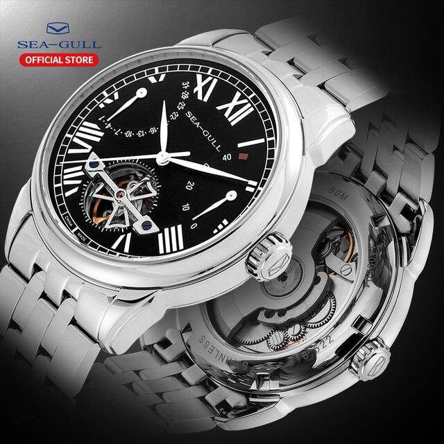 Seagull mechanical watch 40mm high quality watch automatic mens business watch waterproof mechanical watch 816.522