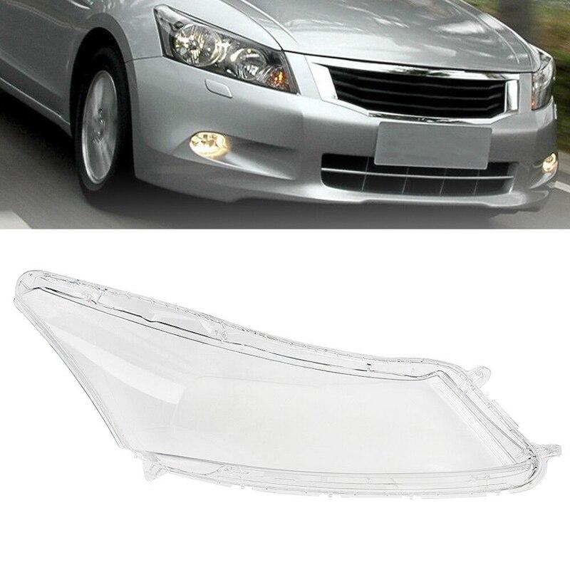 Head Light Lamp Lens Headlight Cover Lens Shell for Honda Accord 2008-2012