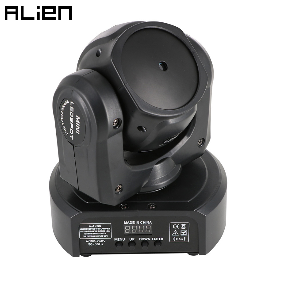 ALIEN RGB DJ Disco Laser Light Projector DMX Moving Head Laser Stage Effect Party Dance Christmas Holiday Bar Beam Gobo Lighting