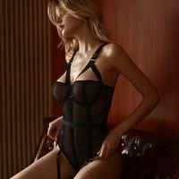 Sexy Spitze Mesh Overall Hosenträger Kunststoff Körper Anzug Strap Body Frauen Strumpfband Versuchung Streetwear