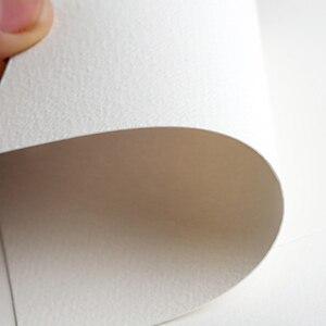 Image 2 - Cahier de marqueurs à laquarelle vierge, carnet de croquis, papier de dessin professionnel, Journal dart, bloc notes Portable, bande élastique, 40 feuilles de CC