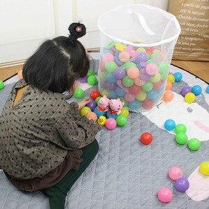 Image 4 - 100 pièces écologique en plastique océan vague balles jouet les balles de piscine bébé natation fosse jouets drôle en plein air intérieur Sports enfant jouet 5.5cm
