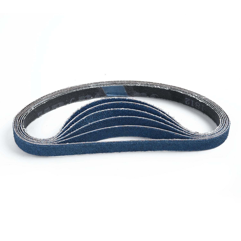 para pa/ño abrasivo de metales pesados Black /& Decker Powerfeile-Y 5 60//80//100//120//240//320 arena gruesa Cinturones de lijado,13 x 457 mm un juego de 30 bandas abrasivas