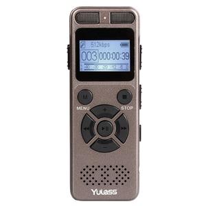 Image 3 - Yulass 8Gb Professionele Audio Recorder Business Draagbare Digitale Voice Recorder Usb Ondersteuning Multi Taal, tf Kaart Naar 64Gb