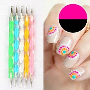 1Pcs DIY Nail Art Dotting Painting Pen Manicure Set Acrylic Nail Kit Nail Art Tools Kit Set For Nail Set of Tools Crystal Powder