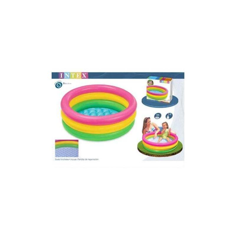 Pool 86X25 3 Tubes Colors (68 LITRES Toy Store Articles Created Handbook
