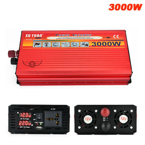3000W Car Power Inverter DC 12V / 24V To