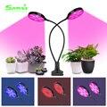 Светодиодный фитоламповый светильник 5 в USB с полным спектром для растений 2835 Светодиодный фитолампа для роста растений с пультом дистанцио...