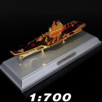1/700 Scale Aircraft Carrier Ship Navy Battleship Warship Model Toy Model Alloy Metal Diecast Model For Collection