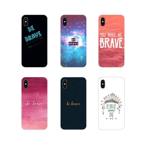 Be brave для Motorola Moto X4 E4 E5 G5 G5S G6 Z Z2 Z3 G G2 G3 C Play Plus Аксессуары чехлы для телефонов