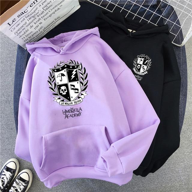 The Umbrella Academy Hoodies Women Men Harajuku Winter Warm Diego Cha-Cha Graphic Streetwear Unisex Fashion Top Sweatshirts Male 1