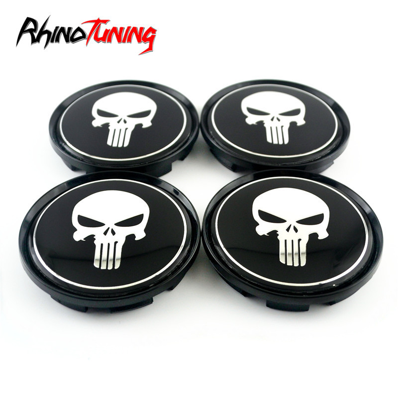 Image 3 - 4pcs 63mm 57mm for OZ Racing M595 Wheel Center Cap for Rims Skull Wheel Hub Caps Cover Superturismo WRC-in Wheel Center Caps from Automobiles & Motorcycles