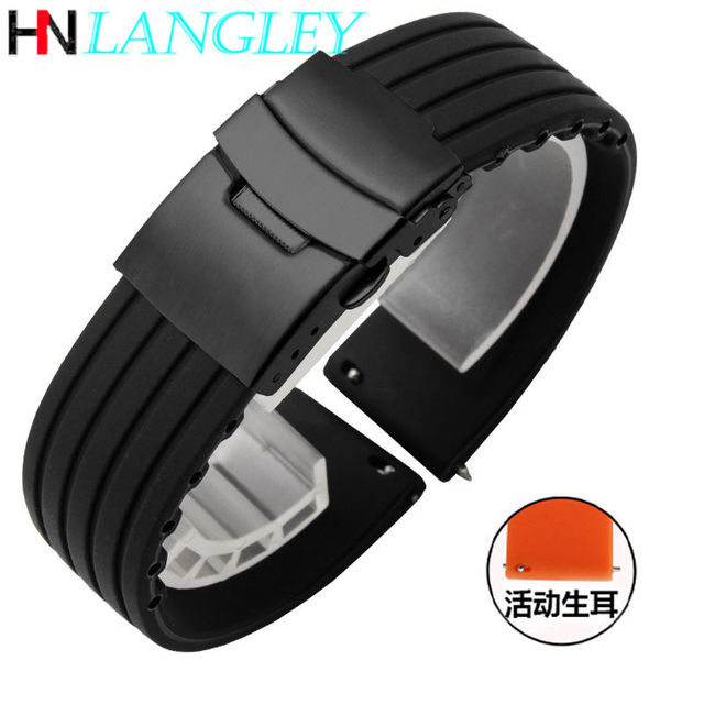 20mm 22mm Quick Release Silicone Watch Bands For Samsung Active 43mm 47mm for Fossil Watch Strap 18mm 24mm Rubber Sport Bands 5