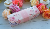 21*7*5cm Flower Bird pattern Gift Paper Box Macaron Chocolate Paper Box wedding Birthday Party Gifts Packaging Box 100pcs/lot