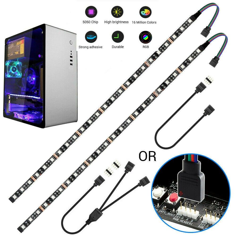 Ленсветильник светодиодная Магнитная для ПК, 12 В, 4 контакта