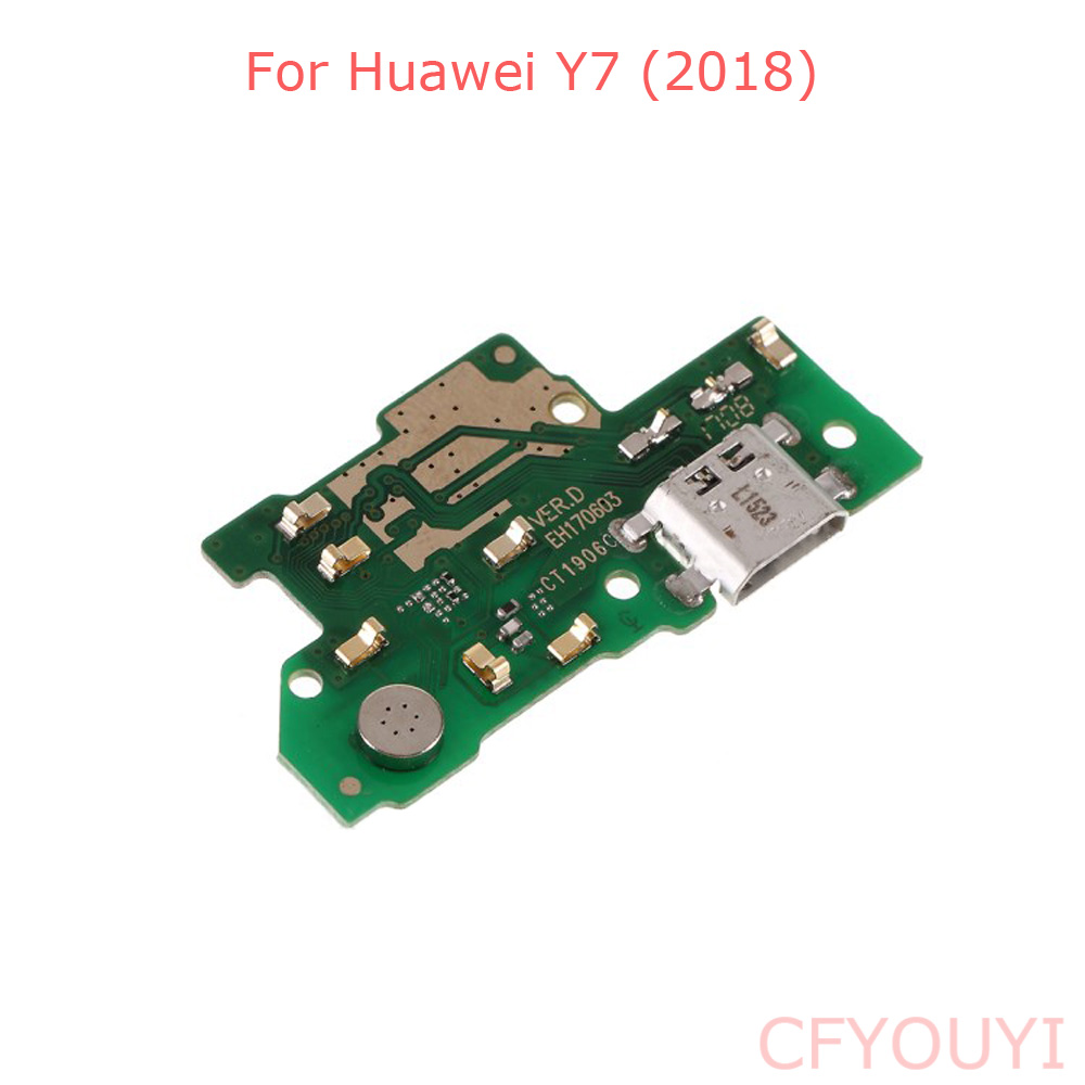 For Huawei Y7 2018 LDN-L01 / LDN-LX3 USB Charger Charging Port Dock Connector Board Flex Cable Part