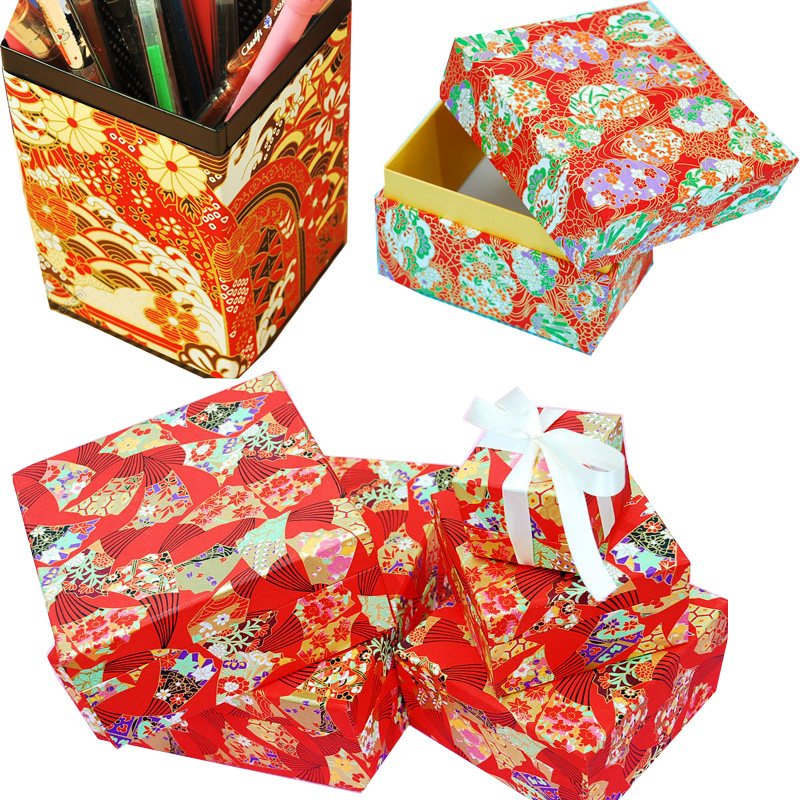 Image 5 - Origami  Japanese Chiyogami Yunzen Paper, Hand silk Screened Craft Paper For Gift Wrapping Box Doll Decorationpaper forpaper for craftspaper wrapping -