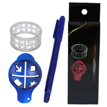 Мяч для гольфа, 3 цвета, клипса, маркер для рисования линий, ручка, шаблон, выравнивание, метки, гольф-маркер, подарки на день рождения/Бизнес