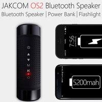 Bluetooth Speaker OS2 Jakcom Outdoor Waterproof 5200mAh Power Bank Bicycle Portable Subwoofer Bass Speaker LED light+Bike Mount