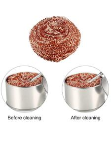 Ball MESH-FILTER Desoldering Cleaning-Nozzle-Tip Copper-Wire-Cleaner Metal Dross-Box