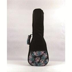 Миниатюрная гитара укулеле сумка 21/23/26 дюймов Портативный инструмент мягкий Гиг сумка для переноски концерт кейс для переноски гитарная кр...