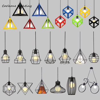 Nordic Modern Pendant Lights Retro Iron Art Pendant Lamp Kitchen Metal Hanging Lamps American Industrial Pendant Light Fixtures nordic modern pendant lights retro iron art pendant lamp kitchen metal hanging lamps american industrial pendant light fixtures