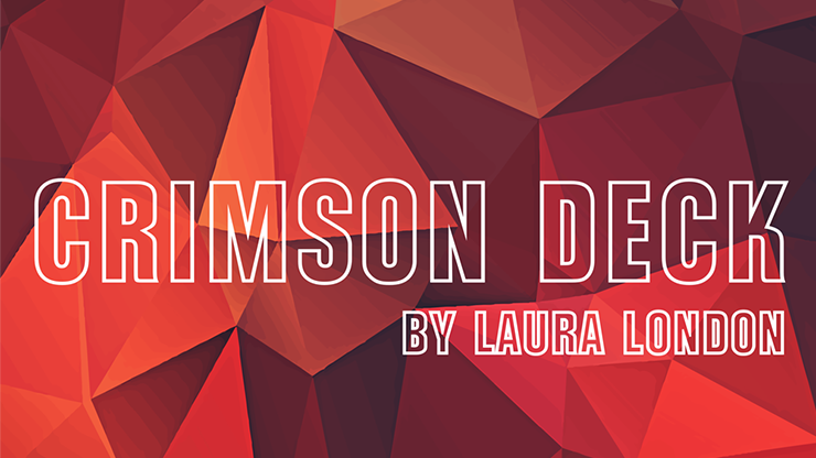 Crimson Deck By Laura London  Magic Tricks